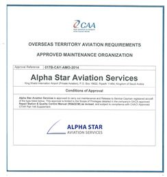 CAA - Approval